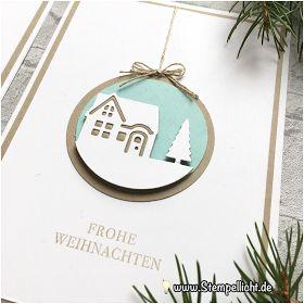 Weihnachtskarten mit Weihnachten daheim von Stampin´ Up!