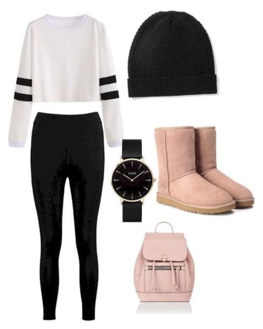 25+ ATTRACTIVE FALL OUTFITS FOR TEEN STYLE #outfitideas #outfits #outfitideasfor…
