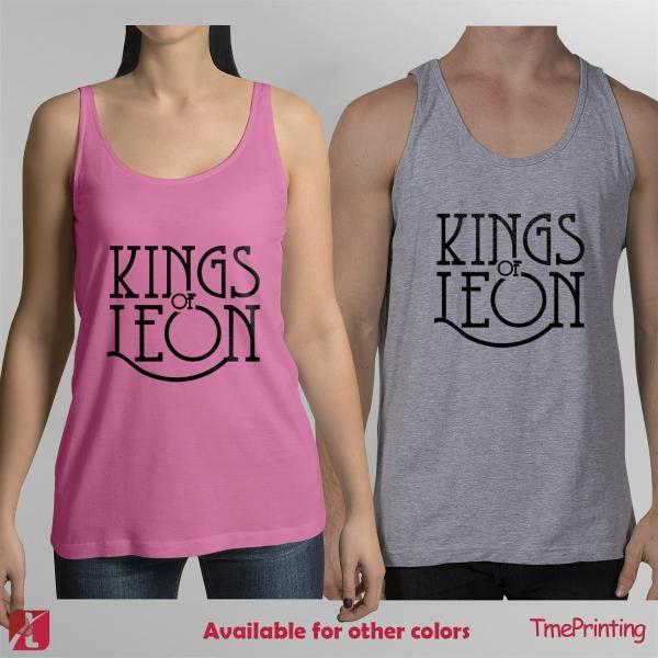Kings of Leon Logo for Men Tank Top, Women Tank Top