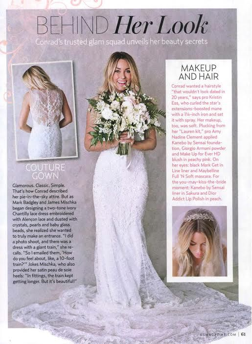 All the Details on Lauren Conrad's Wedding Dress