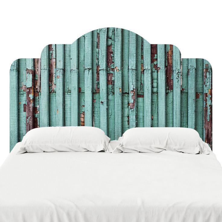 Decal headboard bedroom
