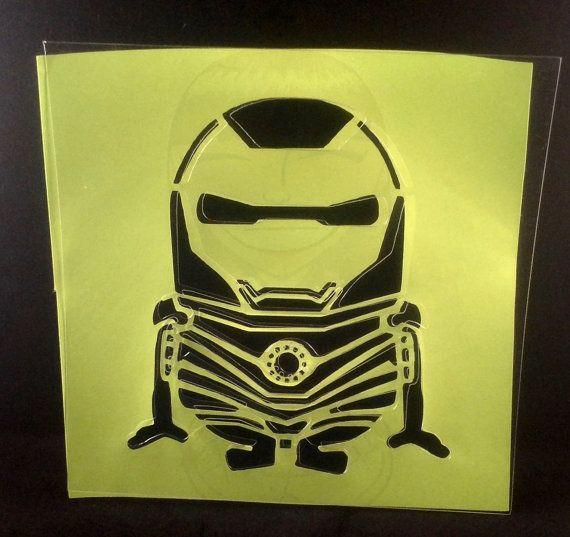 Iron-Minion Stencil