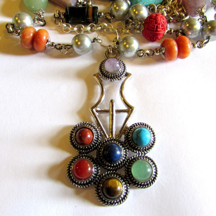 Power Bomb Necklace - free shipping by ClaraBijous on Etsy