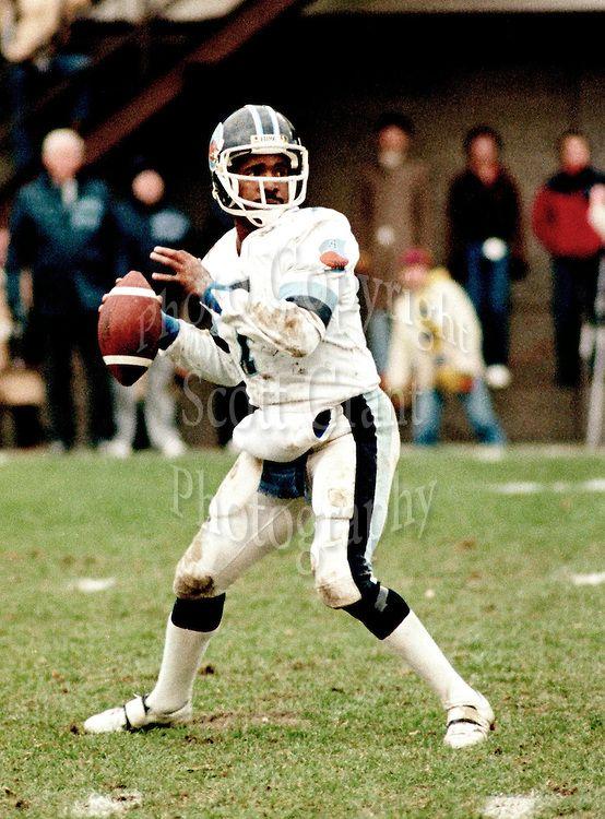 Condredge Holloway Toronto Argonauts Quarterback 1983.