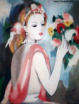 A painting by Marie Laurencin, who held her own as one of the few female artists in Paris between the wars. Description from pinterest.com. I searched for this on bing.com/images