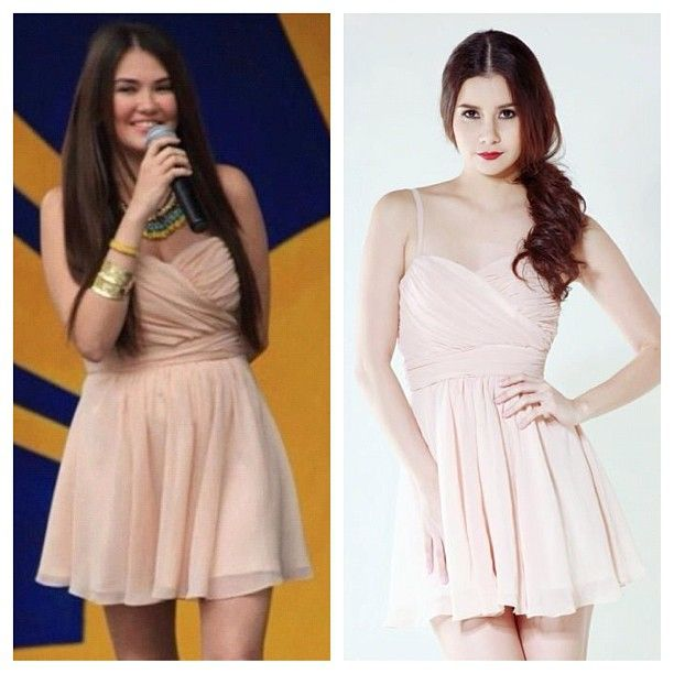 .@oliviaandfifth | Get Angelica Panganiban's Fresh Look! Davey Dress, P3450. For orders/ inquiri... | Webstagram - the best Instagram viewer