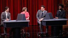 Watch The Tonight Show Starring Jimmy Fallon: Pyramid With Lena Dunham and Hugh Dancy Online | Hulu