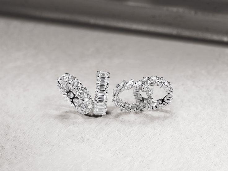 Extrêmement Oltre 25 fantastiche idee su Diamanti a taglio smeraldo su  BO32