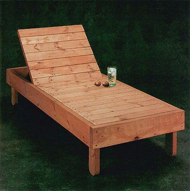 lounge chair or bench