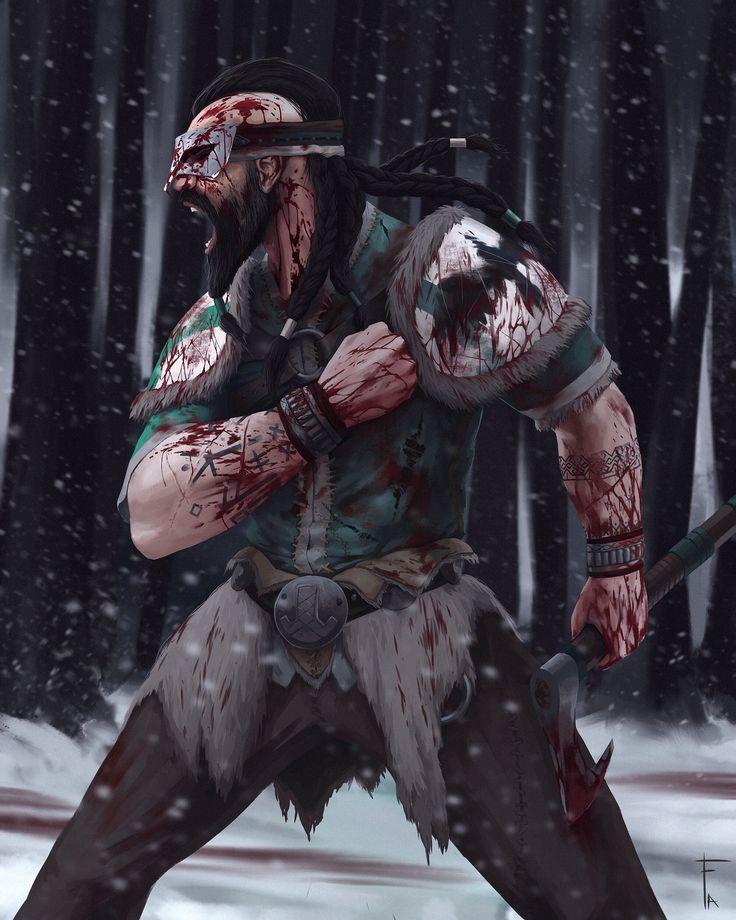 For Honor - Berserker rage! Art by Flipdraw #flipdrawart #art #art #forhonor #forhonorbeta #game #ubisoft #nobushi #fun #funart #ubisoftgames #procreate #traditional2d #xbox #ps4 #games #game #viking #berserker