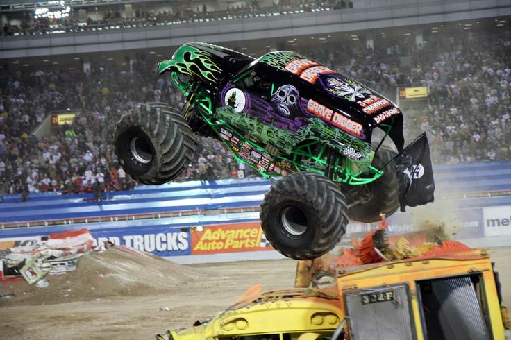 Drive a Monster Truck - Or be in one during a Monster Truck Rally <- This one is going to be tough lol