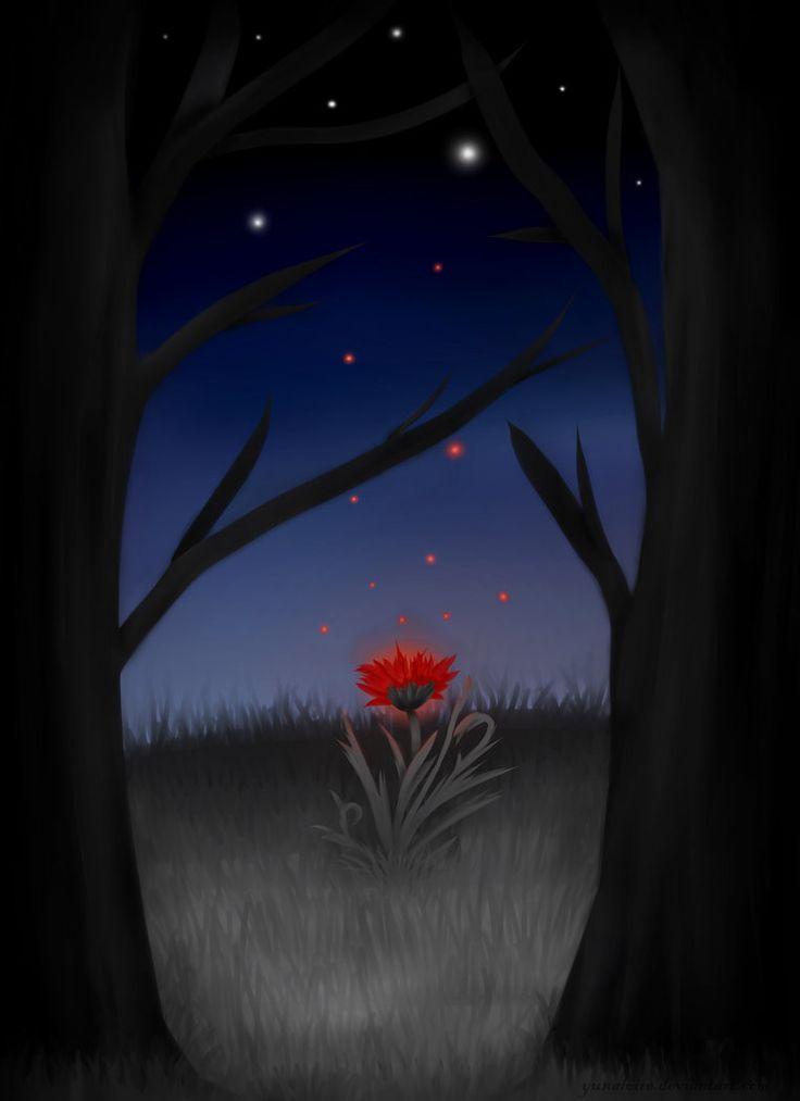 Red Flower by YunaLoire