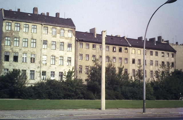 By the summer of 1969 much building work remained to be done in East Berlin to repair the damage of the Second World War bombing. Even where war damage was not immediately visible, years of negelect and a failure to bring buildings up to modern standards was apparent in many areas.