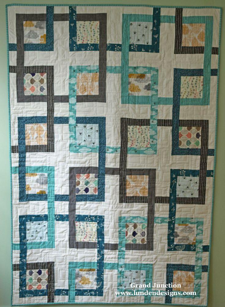 Grand Junction Quilt Pattern Quilts Pinterest