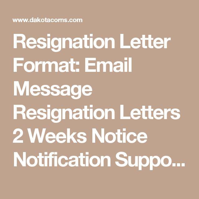 25+ legjobb ötlet a következőről Formal Resignation Letter Sample - sample resignation letters