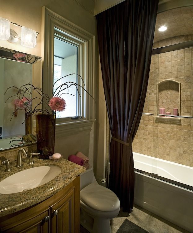 Shower Doors, Recessed Shelves And The Glass