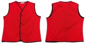 Promotional Products Ideas That Work: Poplin Vest, 3 Buttons. Made in Canada. Get yours at www.luscangroup.com