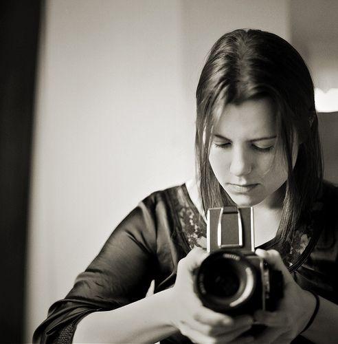 self portrait, hasselblad