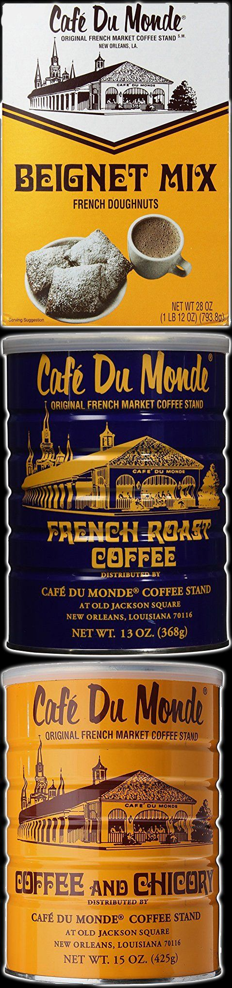 Café du Monde is a renowned open-air coffee shop located on Decatur Street in the French Quarter of New Orleans.  Their packaged Beignet Mix and Coffee are a perfect way to have authentic Louisiana food & drink at your Mardi Gras Voodoo Masquerade Ball Theme Halloween Party Decorations & Ideas