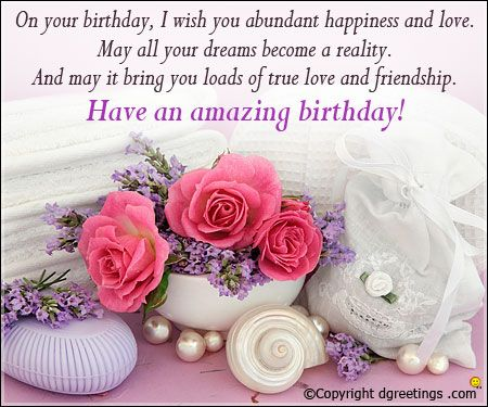 271 best Birthday Wishes images – Free Birthday Messages for Cards
