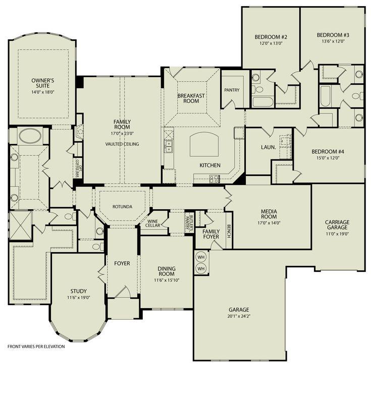 Custom Floor Plans quality custom house plans begin with the floor plan Marley 123 Drees Homes Interactive Floor Plans Custom Homes Without The Custom Price