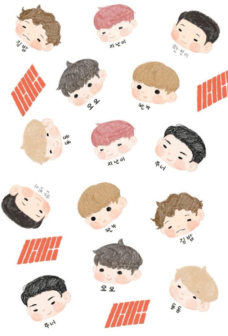 Cute iKON Wallpaper Cr: wacoog99