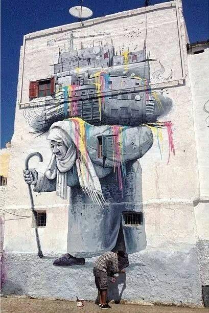 Beautiful Casablanca - street art, http://www.travelandtransitions.com/destinations/destination-advice/africa/morocco-travel-map-things-todo/