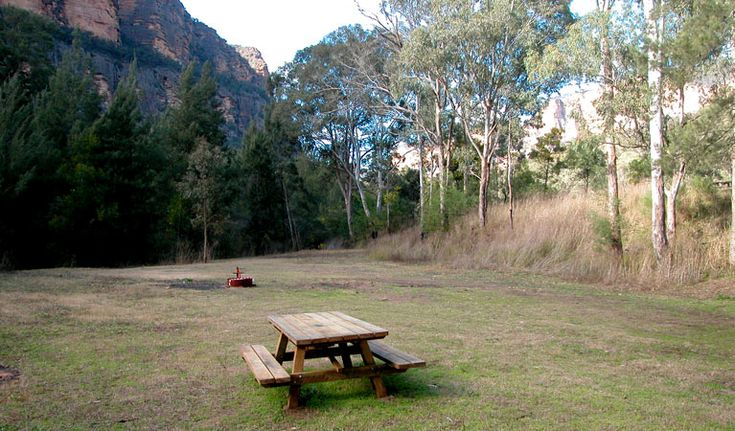 Coorongooba campground - No bookings. Approx. 3.5 hrs drive. Wollemi NP