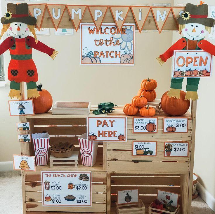 Pumpkin Patch Pretend Play Center