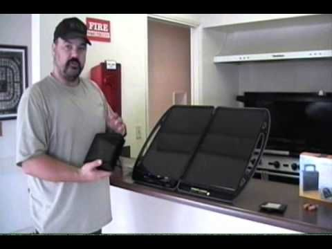 ▶ Harbor Freight Solar Products - YouTube Thunderbolt Magnum Solar Briefcase