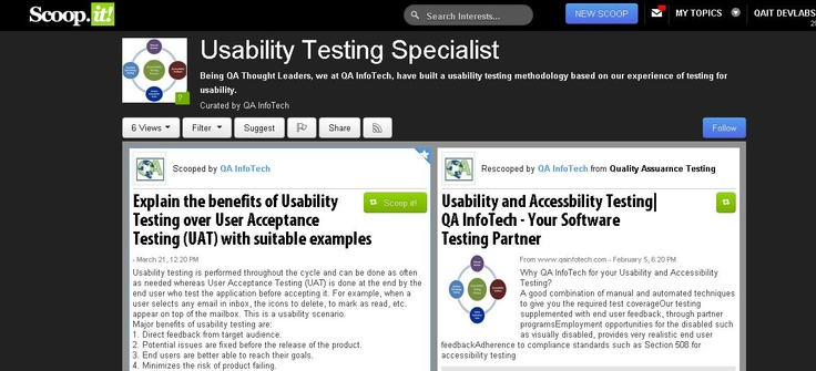 A usability testing checklist with core items to check for, testing for Section 508 compliance, compatibility across platforms and analyzing how web technologies such as AJAX have been used in designing the application, help us bring in objectivity into our usability testing efforts. http://www.qainfotech.com/services_UsabilitynaccessTesting.html