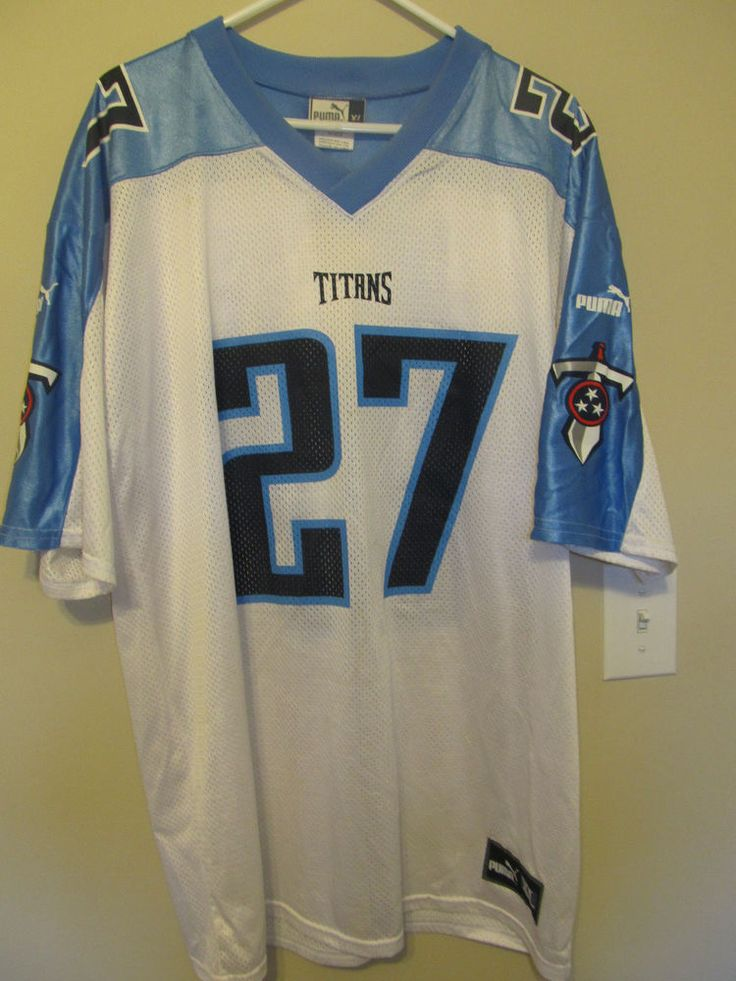 Eddie George - Tennessee Titans Jersey - Puma Adult XL | Sports Mem, Cards & Fan Shop, Fan Apparel & Souvenirs, Football-NFL | eBay!