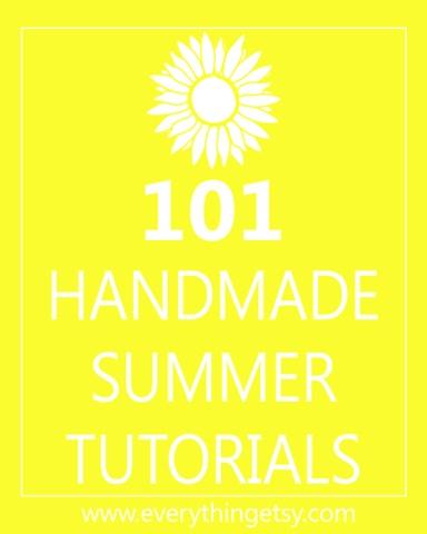 DIY Crafts - 101 Handmade Summer Tutorials: Summer Crafts, 101 Handmade, Decor Ideas, Handmade Summer, Summer Tutorials, Diy Crafts, Diy Gifts, Handmade Gifts, Crafts Tutorials