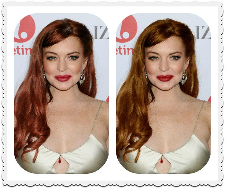 Vlasy - Lindsay Lohan sa vrátila k teplej farbe vlasov - Supervizáž