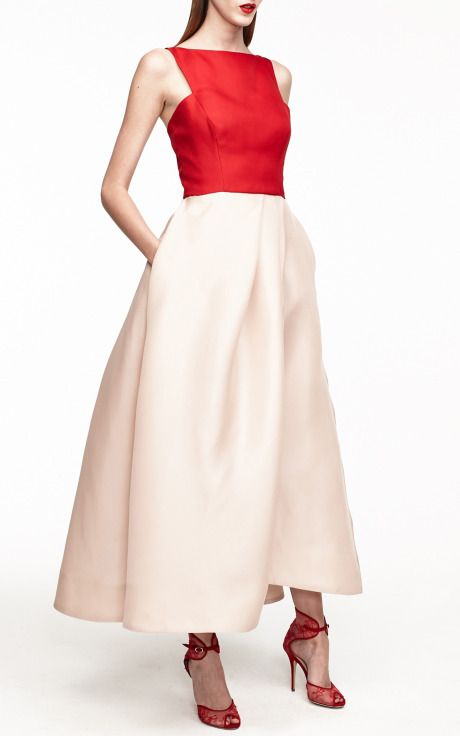 Monique Lhuillier Resort 2015 Trunkshow Look 41 on Moda Operandi