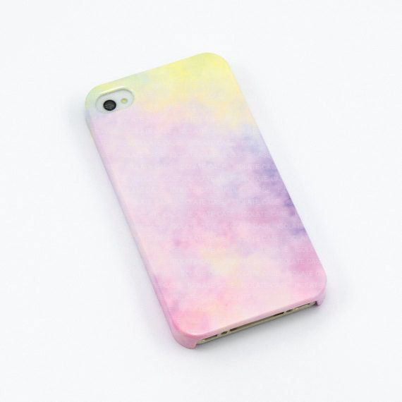 Pastel iphone 4 case , sweet iPhone case , cute iphone 4s case, Hard plastic case , iphone 4 cover