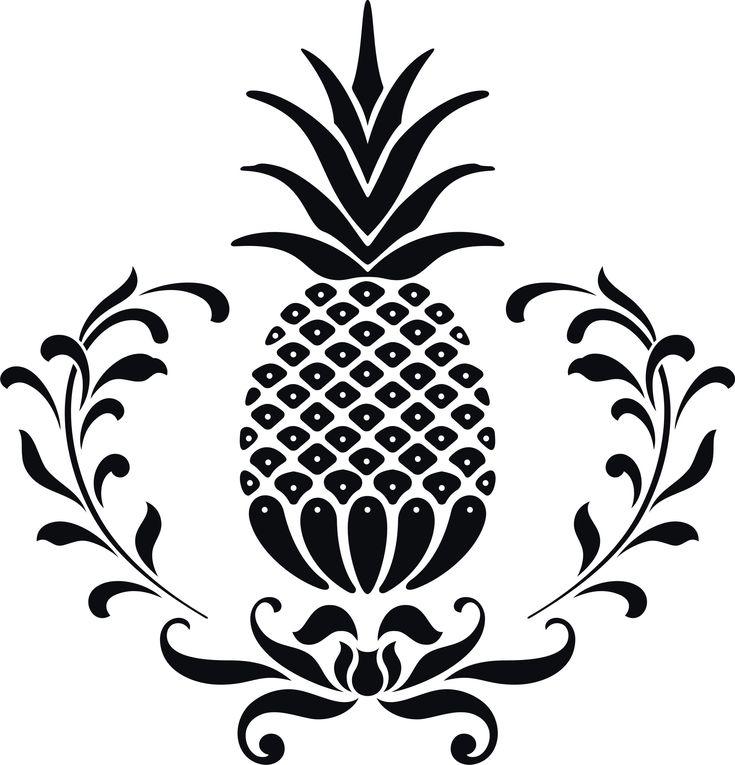 hospitality pineapple clip art  || clipart panda
