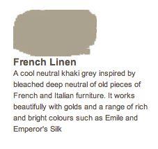Fancy chalk paint. -LH