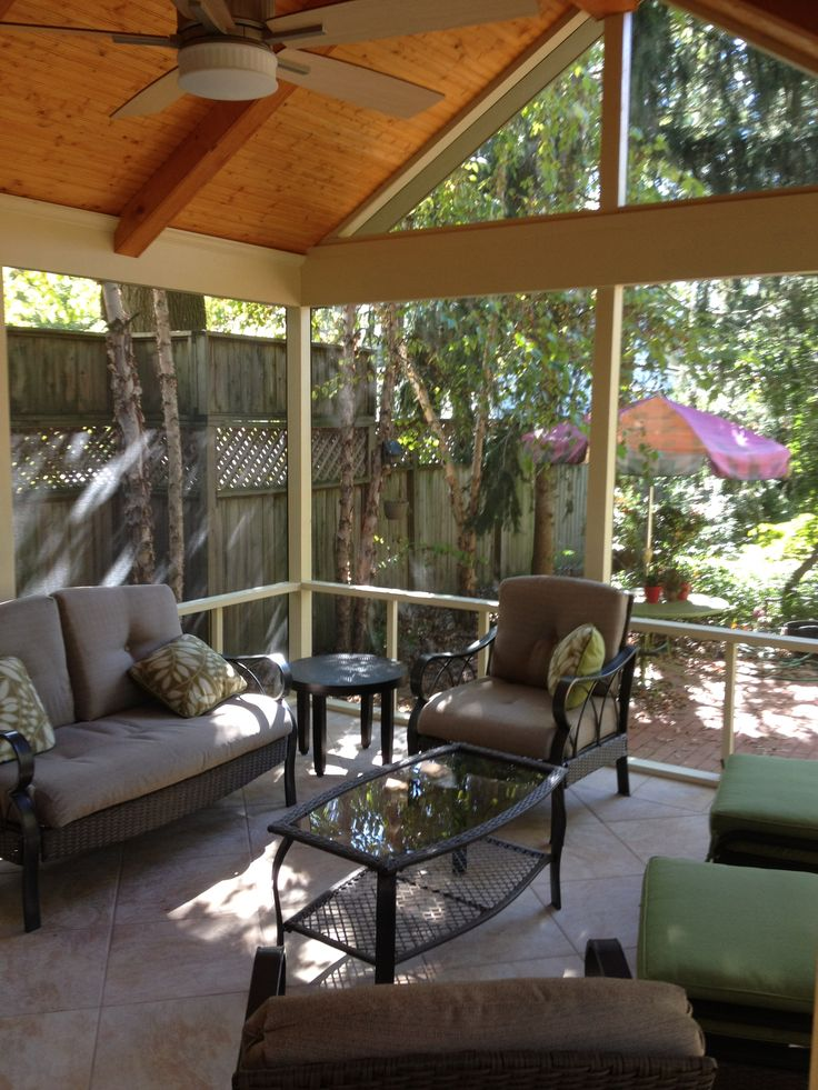 1000 Images About Screen Porch On Pinterest Traditional