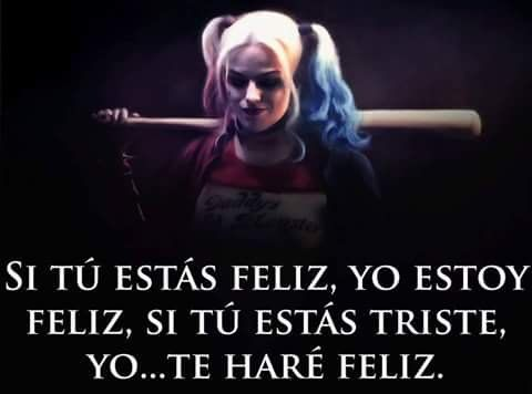 Harley Quinn Frases De Amor Loco Gong Syimo