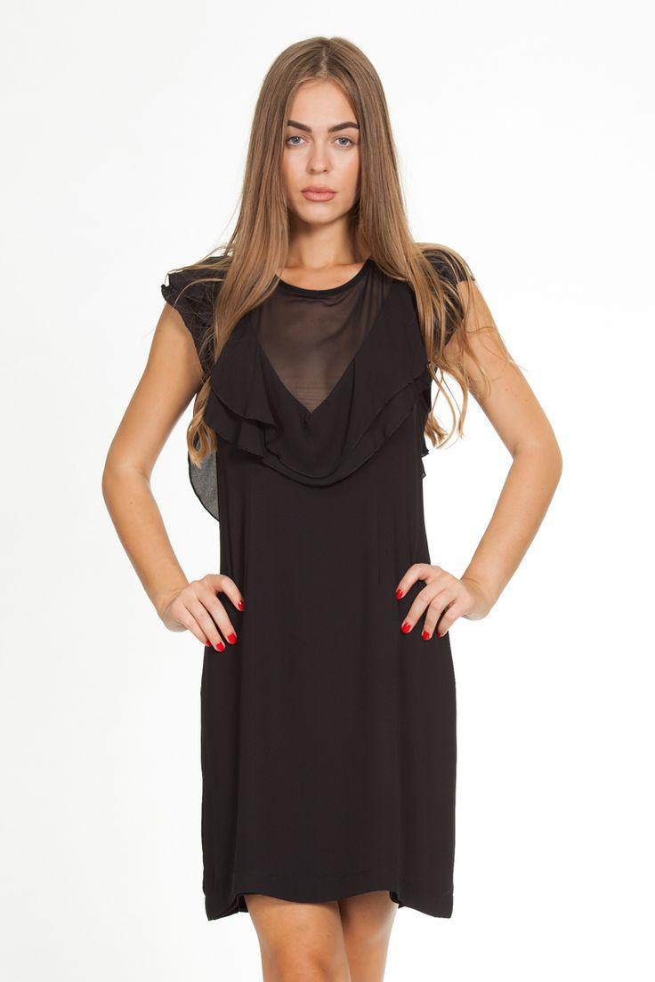 Black sexy dress / Shop online Yazz.GR