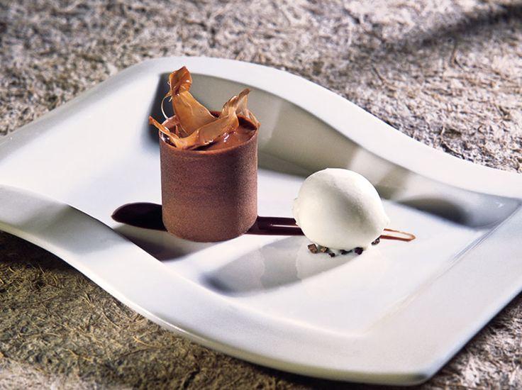 Coulant de chocolate de Jordi Roca