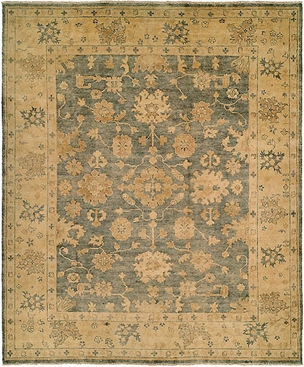 harounian rugs oushak crown b26 blue rug
