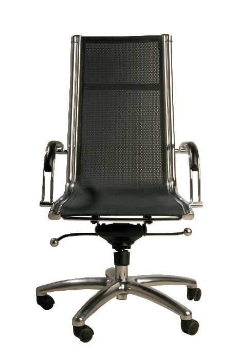 Καρέκλα Γραφείου Commander Ψηλή Τροχήλατη καρέκλα γραφείου, με ψηλή πλάτη και μπράτσα για τα χέρια. Υπάρχει δυνατότητα αυξομείωσης του ύψους της.