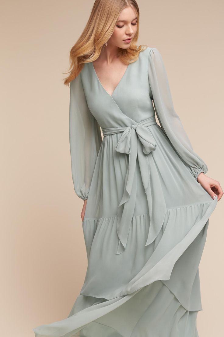 BHLDN Quince Dress in  Bridesmaids Bridesmaid Dresses Long | BHLDN