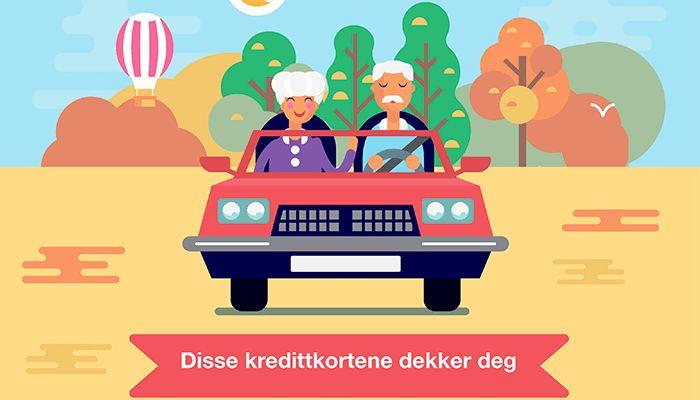 Reiseforsikring for eldre: Disse kredittkortene dekker deg