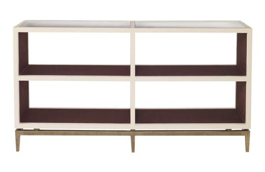 Declichy Console  MidCentury  Modern, Contemporary, Transitional, Wood, Mirror, Upholstery  Fabric, Console Table by Mr Brown London