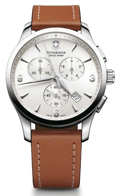 Swiss Watch Brands | ... Swiss Army 241480 Alliance Chronograph Brown Leather Men's Watch