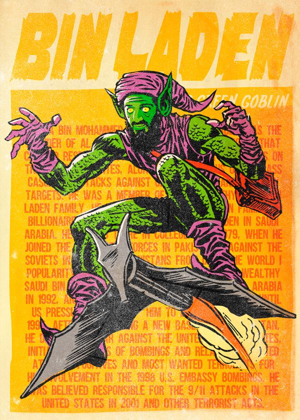 Osama Bin Laden as Green Goblin Twitch is the leading video platform and community for gamers with more than 38 million visitors per month. We want to connect gamers around the world by allowing them to broadcast, watch, and chat from everywhere they play. http://www.twitch.tv/selenagomez44