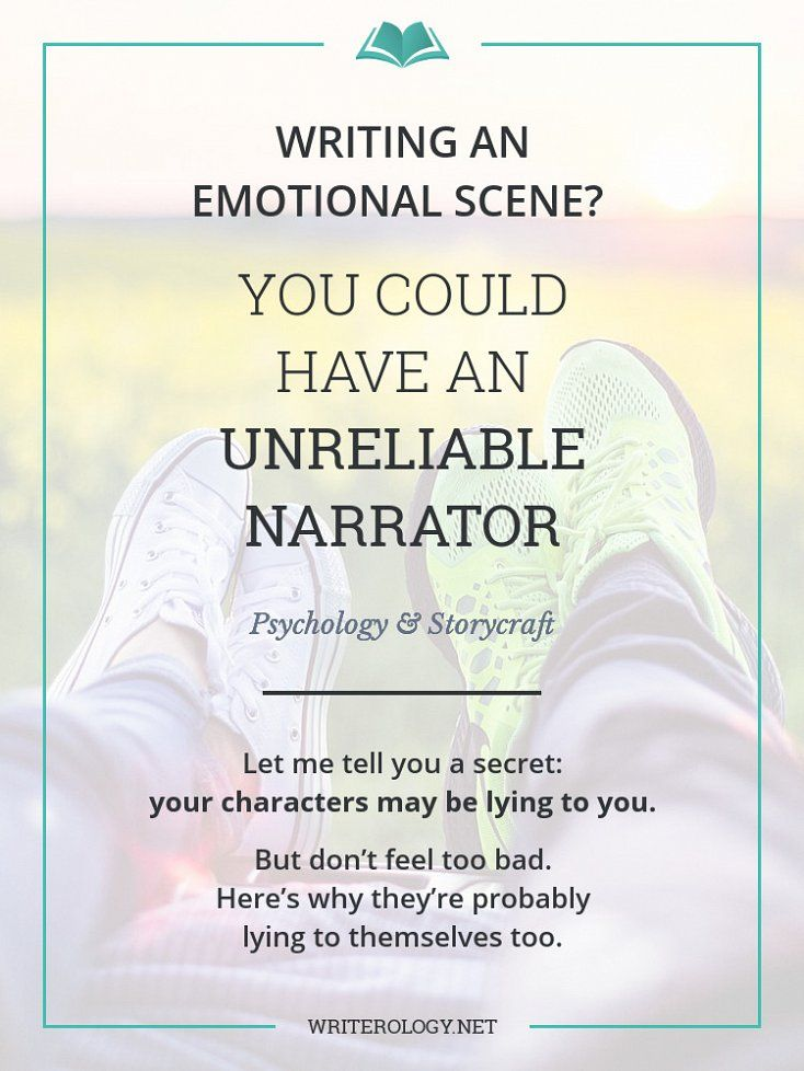 Characters' eyes aren't cameras. Don't believe everything they say they saw. Memories fade, details get distorted, and some features are never remembered in the first place. But that's not a bad thing. Here's how unreliability can strengthen your story. | Writerology.net